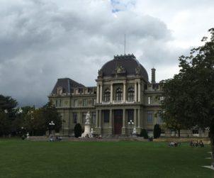 Swiss BatWoman Reveals Photos of Lausanne Palais de Justice