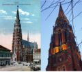 Then & Now: The Co-Cathedral St Peter and Paul in Osijek, This City Knows