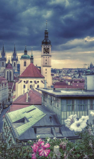 Idle Mornings on Prague's Rooftops