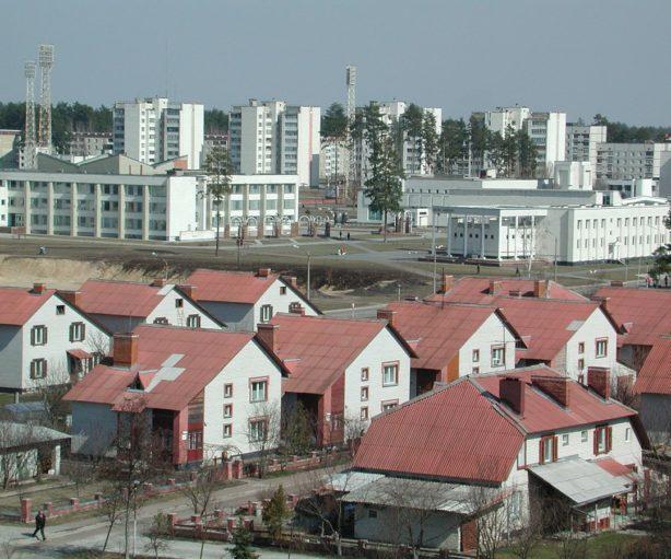radioactive cities Chernobyl and Fukushima