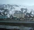 Whittier Alaska a town under one roof