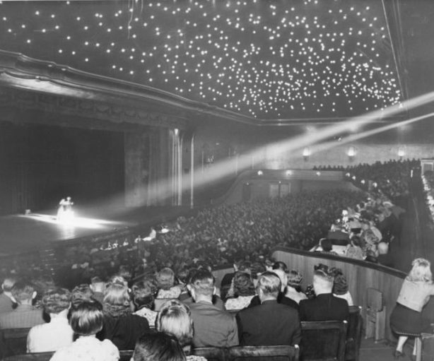 the first movie theater in history, Berlin