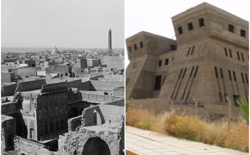 destruction of the Mosul library