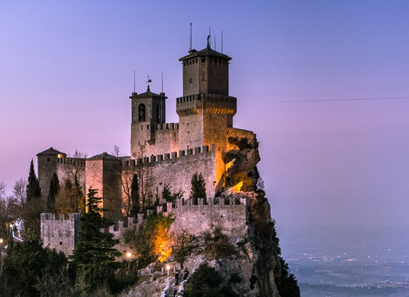 San Marino - one of the smallest but also oldest countries in the ...