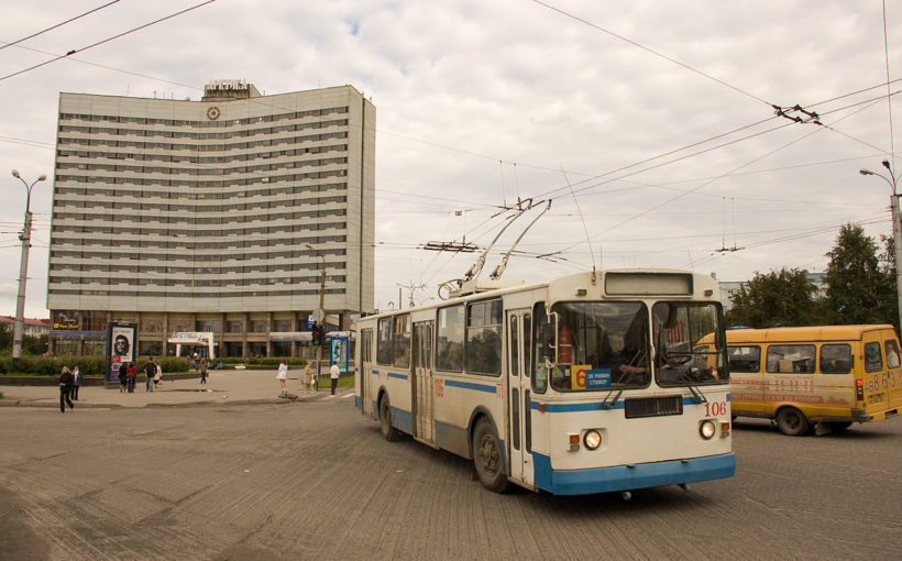 Murmansk the largest city north of the Arctic Circle