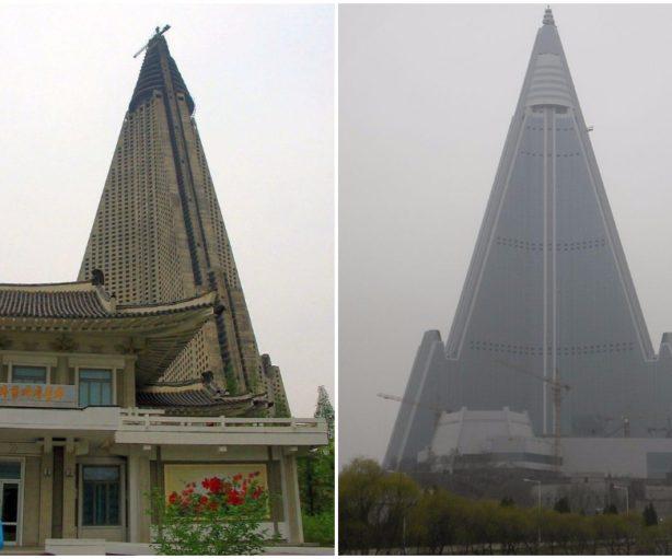 Ryugyong Hotel Pyongyang