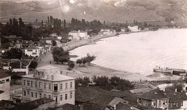 old postcards from Ohrid