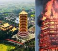 Tallest wooden pagoda in Asia lost to fire