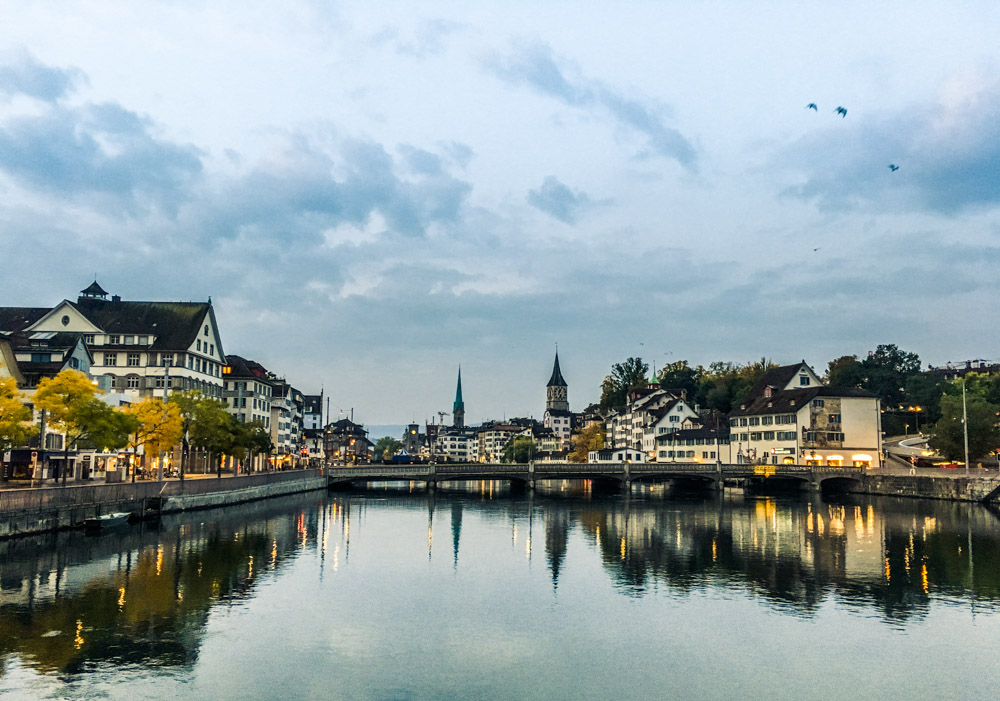 Zürich, where local people bring a notion as if you have been part of this city your entire life