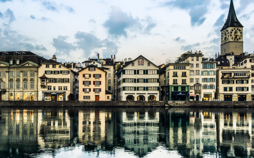 Zürich, center of power and prestige in central Europe