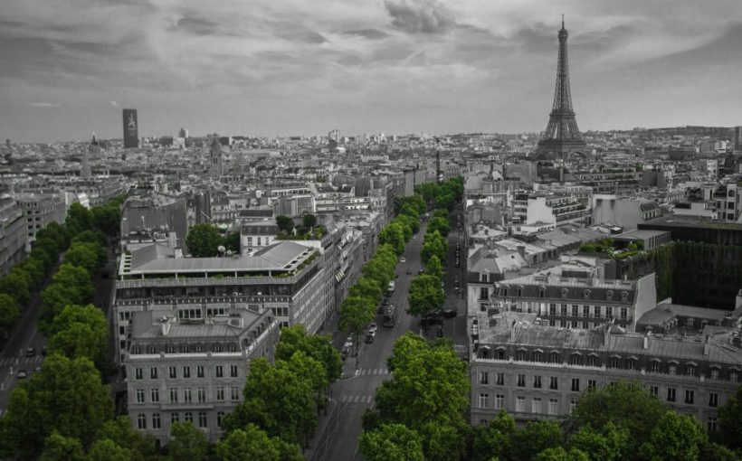 iconic landmarks, the Eiffel Tower