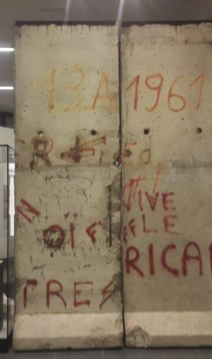 Berlin wall rediscovered