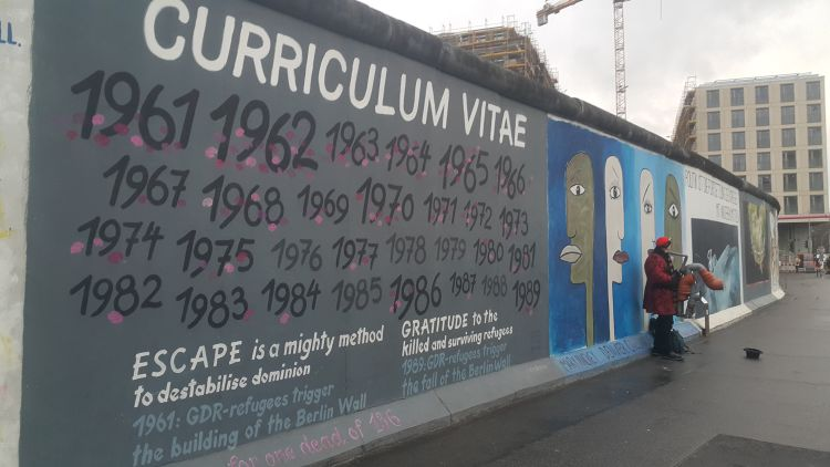 Berlin Wall, East Side Gallery, This City Knows