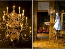 Chandelier nostalgia, once an opulent symbol of status and wealth