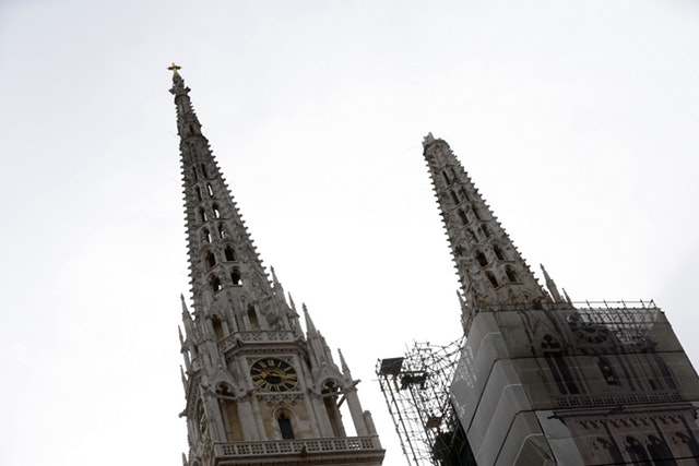 Zagreb Cathedral Damaged In An Earthquakethis City Knows Urban Trekkers