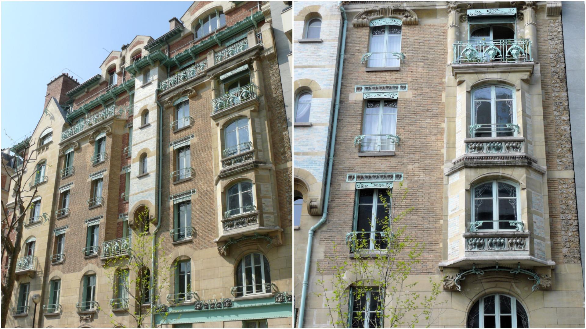Castel Beranger, the first Art Nouveau apartment building in Paris